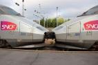 Gracieux attelage de nos deux TGV