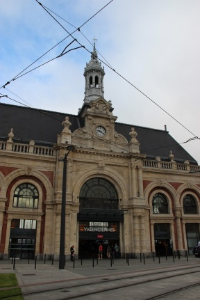 La gare, version ancienne...