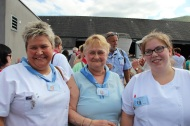 3 générations fidèles à Lourdes !