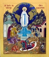 Icône de la Vierges des Pauvres