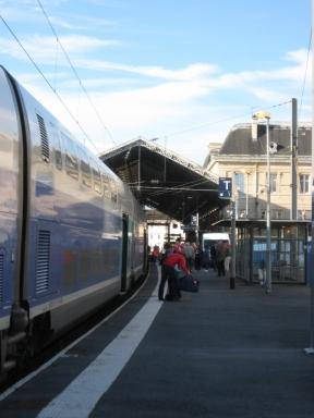 La gare de Charleville-Mézières