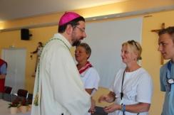 Monseigneur et Fabienne