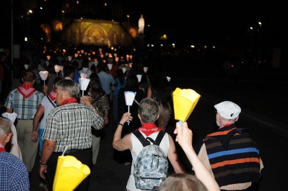 Lourdes 2015 Lichterprozesion 119