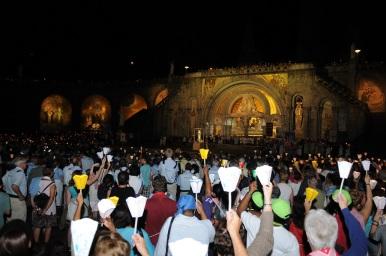 Lourdes 2015 Lichterprozesion 123