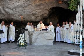 2015 Messe an der Grotte - Guido