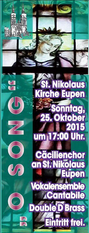2015-10-25 - Cäcilienchor Eupen