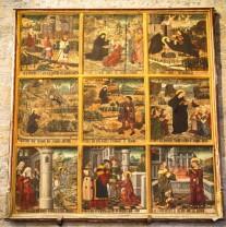 La vie de saint Savin en images