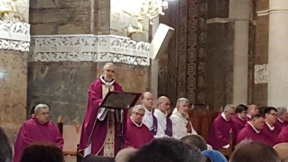Homélie du père Cabes, recteur des Sanctuaires