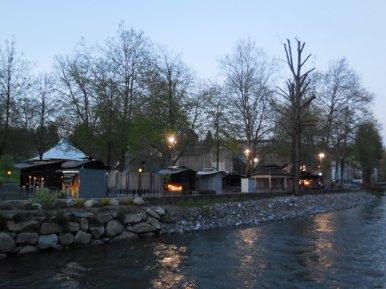 Lourdes 2017 - Présentoirs des cierges