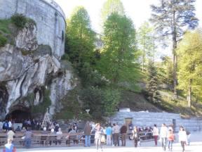 Lourdes 2017 - Aménagements de la Grotte