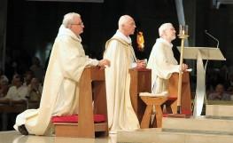 Roland De Stoop - Le cardinal Jozef De Kesel - Jean-Luc Oste